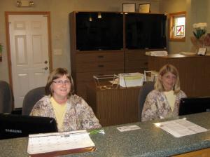 reception station